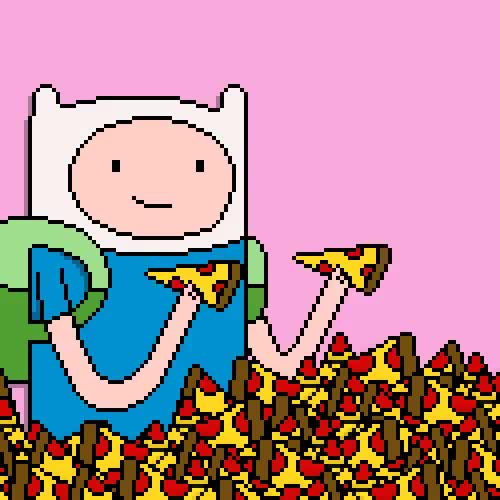 Watch and share Pizza Sonsuzpizza GIFs and Adventure Time GIFs on Gfycat