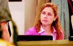 Watch this bye GIF by sannahparker on Gfycat. Discover more Jenna Fischer, Pam Beesly, bye, farewell, goodbye, salute, so long, the office GIFs on Gfycat