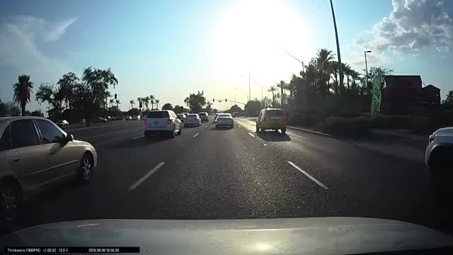 Watch Dashcam Footage Aug 2018 GIF on Gfycat. Discover more dashcam GIFs on Gfycat