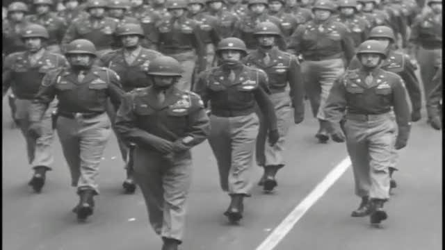 Watch U.S. WWII Victory Parade - New York - 1946 GIF on Gfycat. Discover more nyc victory parade, wwii parade, wwii victory parade GIFs on Gfycat