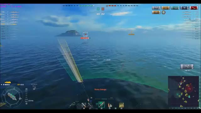 Watch and share Worldof Warships GIFs by mutt45 on Gfycat