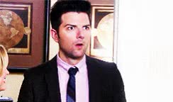 Watch and share Adam Scott GIFs by Reactions on Gfycat