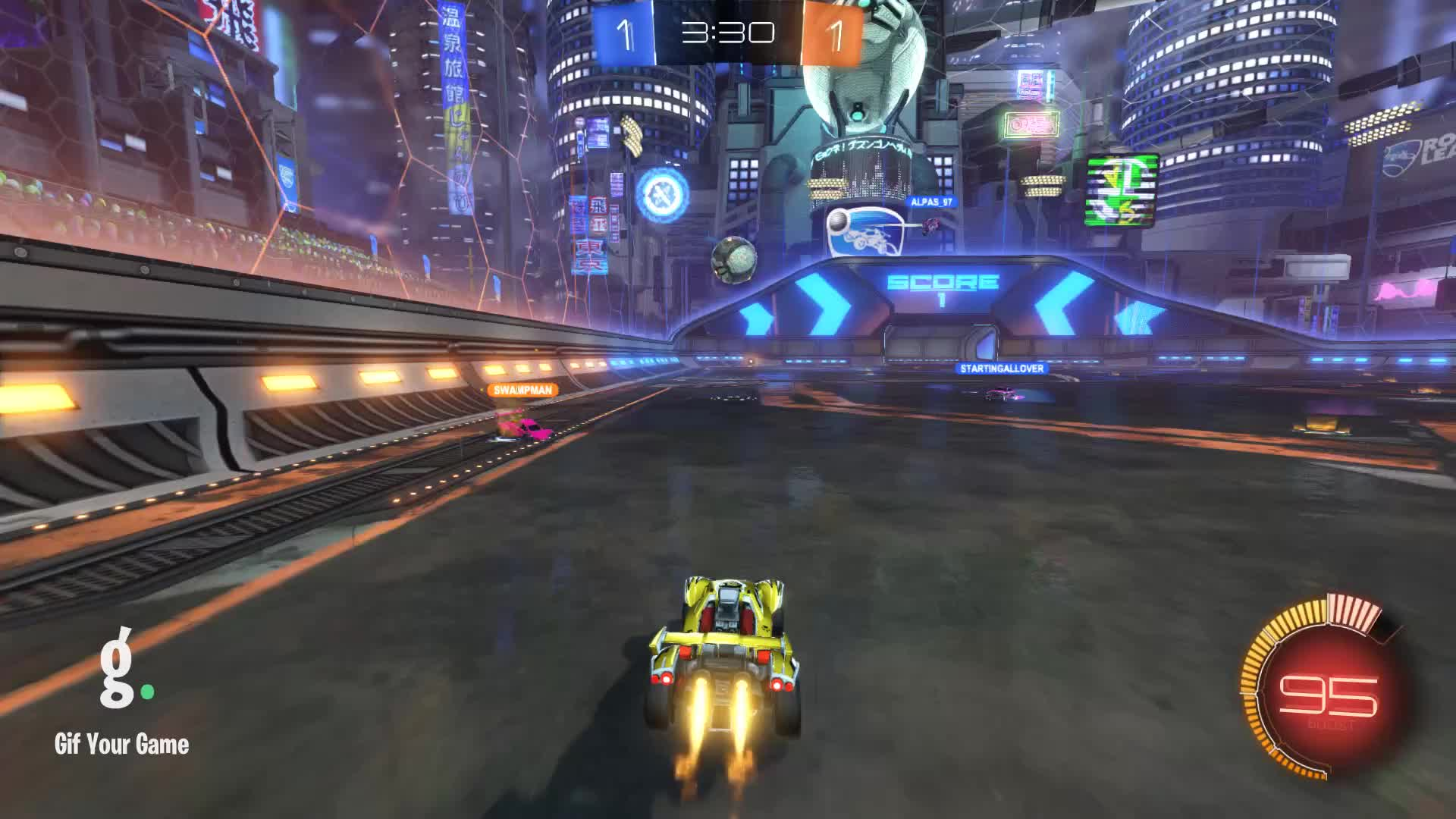 Gif Your Game, GifYourGame, Goal, Newt, Rocket League, RocketLeague, Goal 3: Newt GIFs