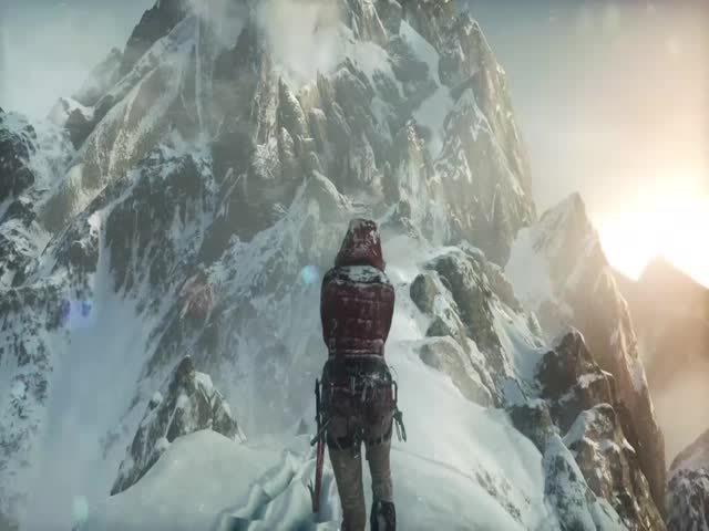 climbing, gaming, The new Tomb Raider looks amazing (reddit) GIFs