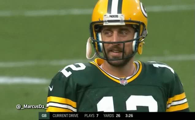 Watch and share Aaron Rodgers Reaction3 GIFs by MarcusD on Gfycat