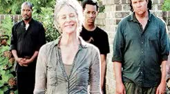 Watch and share The Walking Dead GIFs and Carol Peletier GIFs on Gfycat
