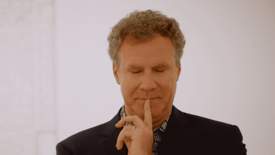 awkward, blush, embarrassed, ferrell, funny, haha, hammer, hehe, hilarious, joke, laugh, lol, museum, nervous, omg, oops, shy, ucla, wait, will, Will Ferrell - Oops GIFs