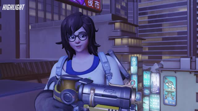 Watch freeze GIF on Gfycat. Discover more highlight, mei, overwatch GIFs on Gfycat