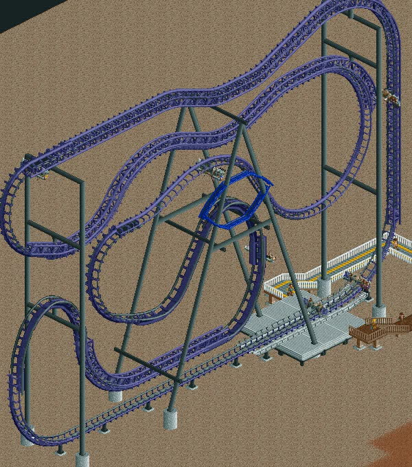 [Discussion] What's the hardest roller coaster to recreate in RCT2? : rct GIFs