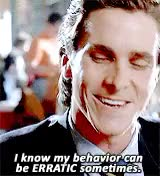 Watch and share American Psycho GIFs and Patrick Bateman GIFs on Gfycat