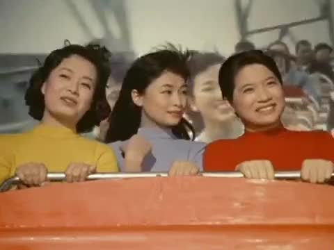 Watch Hey, They Were Even Cute In The 1950s! GIF by @straycatstrut on Gfycat. Discover more asian, asiangirlsbeingcute, janken musume GIFs on Gfycat