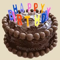 Watch and share Cake-chocolate-happy-birthday GIFs on Gfycat