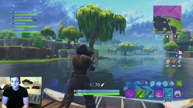 Watch and share BestInOxford Playing Fortnite - Twitch Clips GIFs on Gfycat