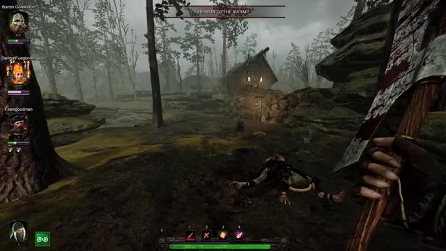 Watch and share Warhammer Vermintide  GIFs on Gfycat