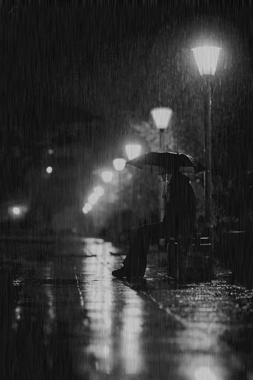Watch and share Pouring Rain {GIF}  Waiting For You Edit:Tales Of The Night Whisperer GIFs on Gfycat