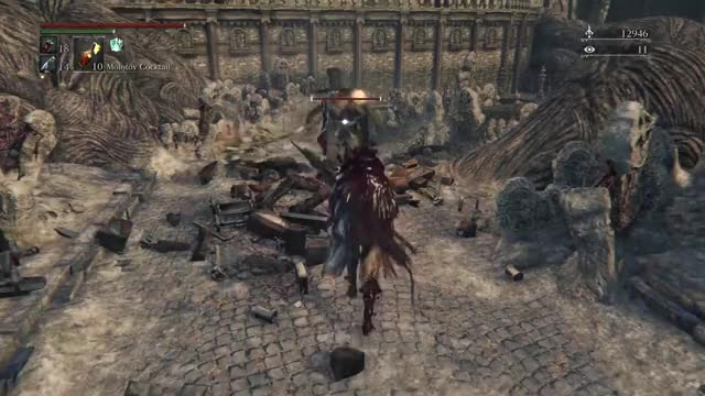 Watch and share Visceral Attack GIFs and From Software GIFs by Kaneda18 on Gfycat