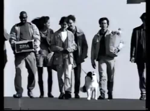 Watch and share 1995 Zima Walking Commercial GIFs on Gfycat