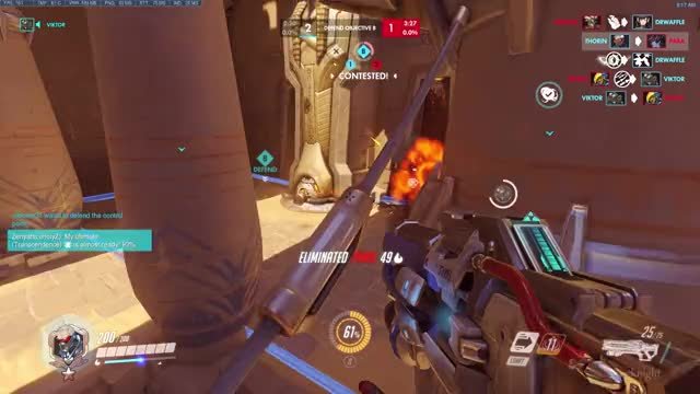 Watch Good tracking, 1600 @2.2 GIF on Gfycat. Discover more overwatch GIFs on Gfycat