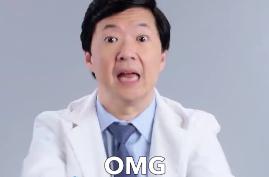 Ken Jeong, OMG, afraid, funny, god, jeong, ken, my, no, oh, scared, surprise, way, Ken Jeong OMG GIFs