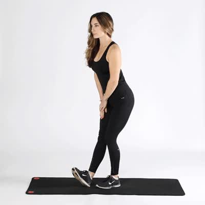 Watch and share 400x400-Standing Hamstring Stretch GIFs by Healthline on Gfycat