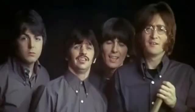 Watch and share Los Beatles GIFs and The Beatles GIFs on Gfycat