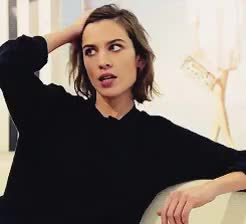 Watch and share She's So Cute GIFs and Alexa Chung GIFs on Gfycat