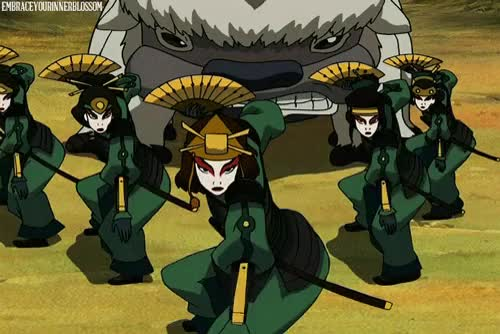 Watch and share The Kyoshi Warriors GIFs and Ty Lee GIFs on Gfycat