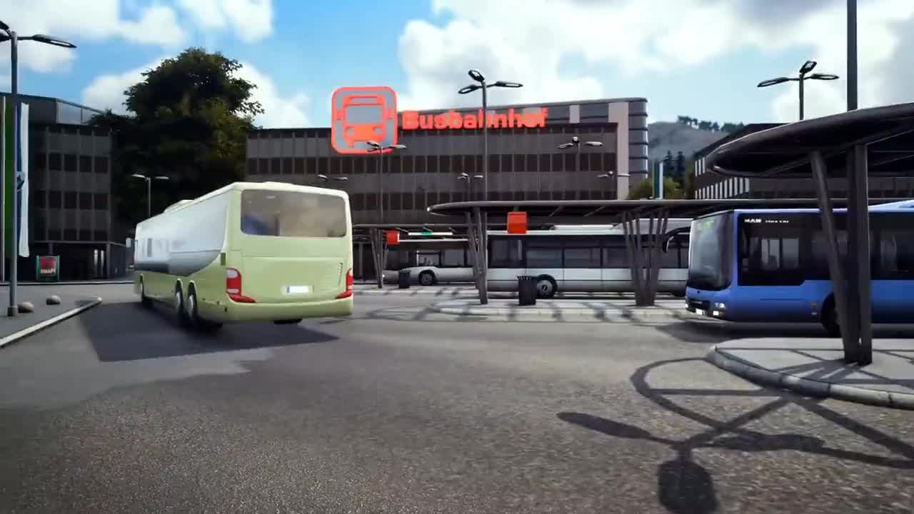 Bus Simulator 18: Teaser Trailer (EN) GIF | Gfycat