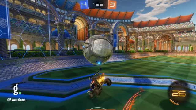 Watch Goal 8: BeK GIF by Gif Your Game (@gifyourgame) on Gfycat. Discover more BeK, Gif Your Game, GifYourGame, Goal, Rocket League, RocketLeague GIFs on Gfycat