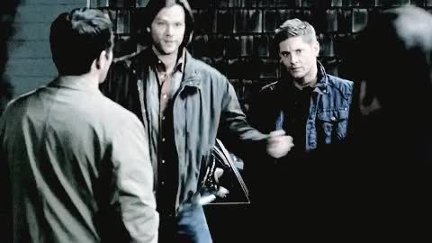 Watch and share Supernatural Cast GIFs on Gfycat
