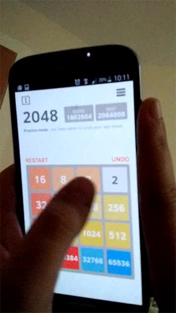 Watch and share Highest 2048 Tile - 131072 GIFs by baztastic on Gfycat