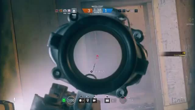 Watch and share Hit Registration Over Railing GIFs by xizerochance1451 on Gfycat