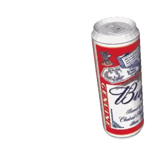 Watch and share Transparent Spinning Beer Budweiser ... - Animated Gif GIFs on Gfycat