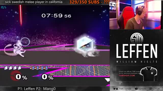Mewtwo King - Leffen's Mewtwo VS Westballz and Mang0