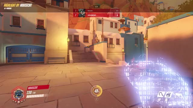 Watch mine GIF by @tykerx on Gfycat. Discover more highlight, overwatch, roadhog GIFs on Gfycat
