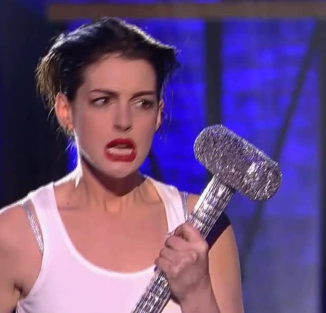 Watch and share Anne Hathaway GIFs by shapesus on Gfycat