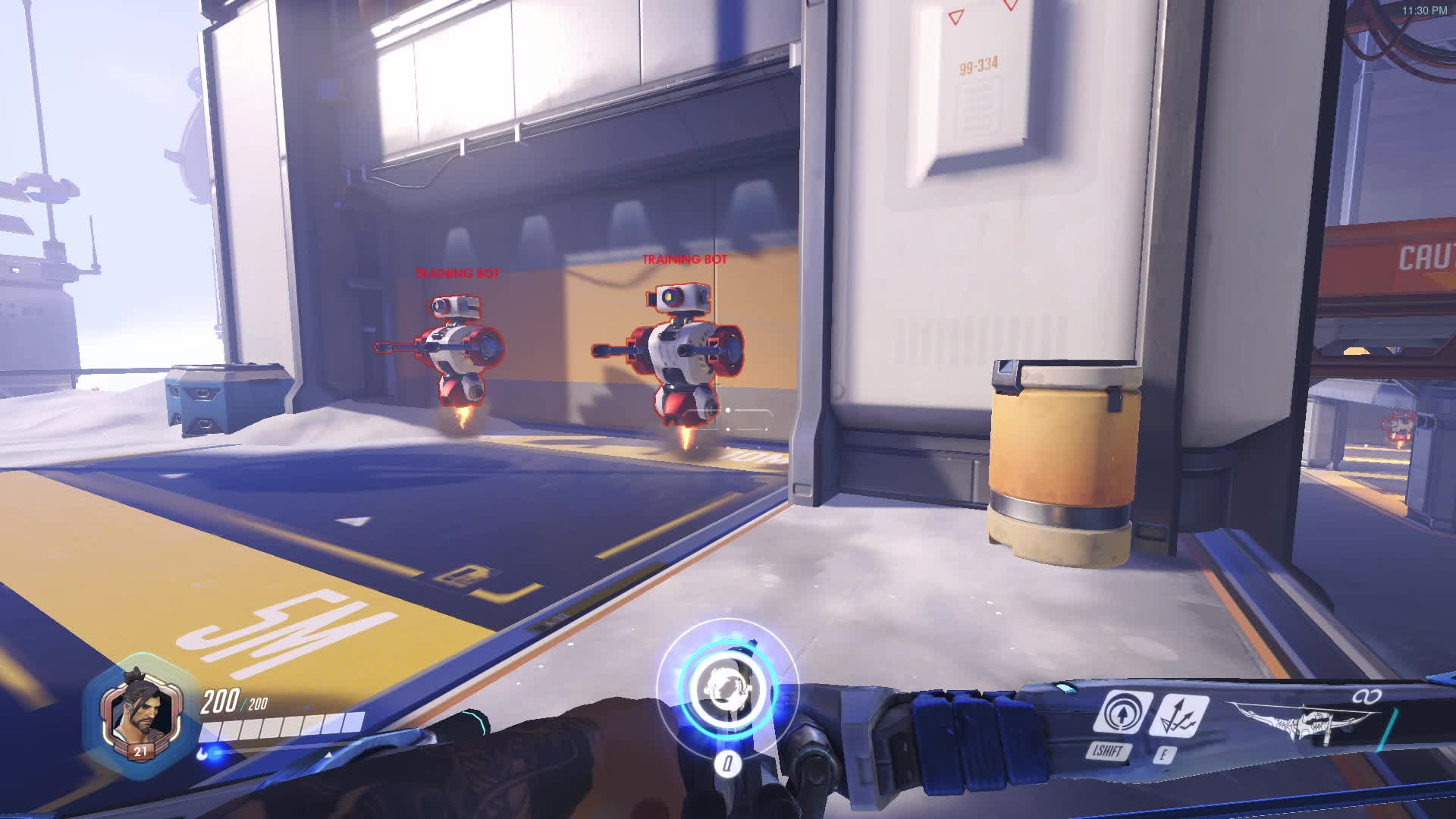Competitiveoverwatch, new hanzo ult mechanic reverted on the ptr GIFs
