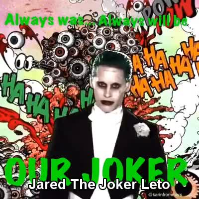 Watch and share Jaredleto GIFs and Joker GIFs on Gfycat