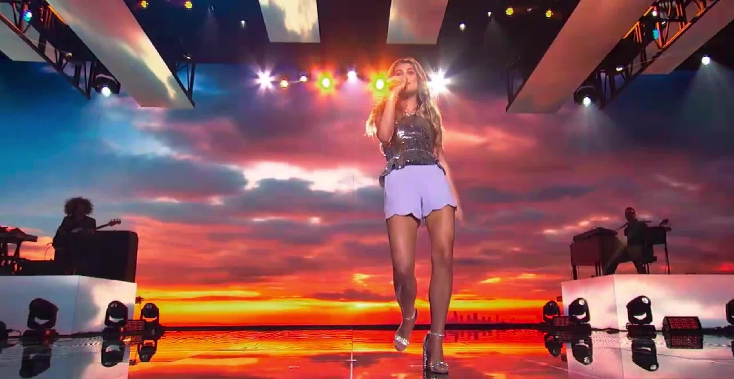 american idol, american idol season 17, americanidol, fabulous, katy perry, lionel richie, luke bryan, riley, riley thompson, ryan seacrest, sassy, season 17, American Idol Riley Sassy and Fabulous GIFs