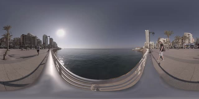 Watch and share The Beirut Corniche - Beirut, Lebanon - 360 Cinemagraph - Pandorama360 @ YouTube.com GIFs on Gfycat