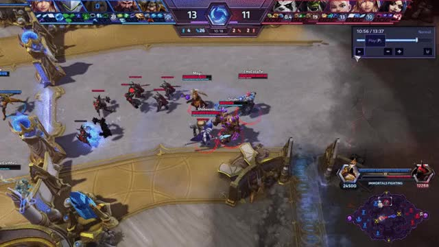Watch and share HOTS - Genji Ownage GIFs on Gfycat