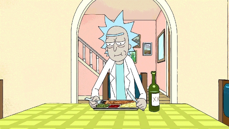 funny, rickandmorty, rickandmortyGIFs, It's more disturbing with the USB cable plugged in. (reddit) GIFs