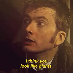 Watch and share David Tennant GIFs and Wilfred Mott GIFs on Gfycat