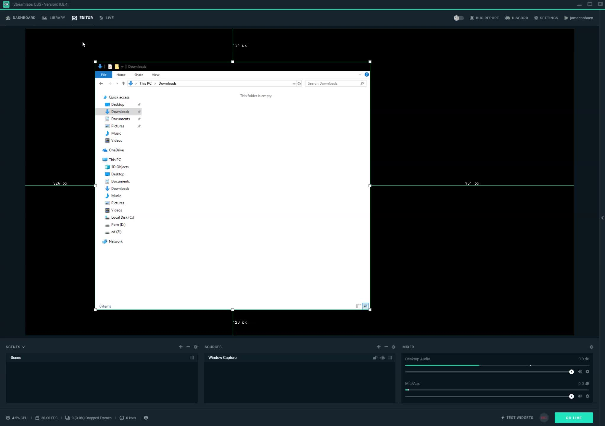 Does Anyone Know How To Crop A Display Capture On The New Streamlabs OBS  Reddit