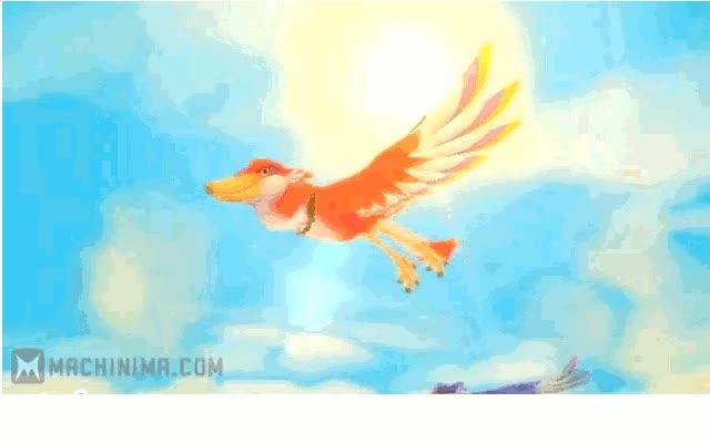 Watch and share LoZ: Birdie GIF By W1n5t0n114  Watch Digital Art / Other / Fantasy GIFs on Gfycat