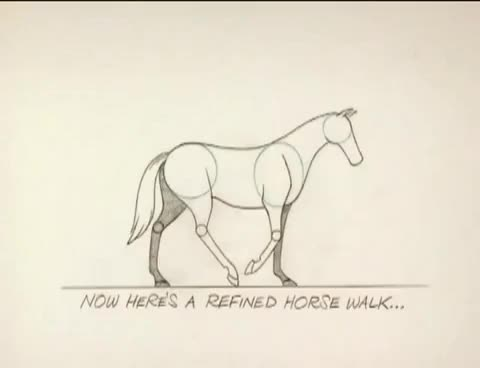 Watch and share Animating Horse Walk Cycle GIFs on Gfycat