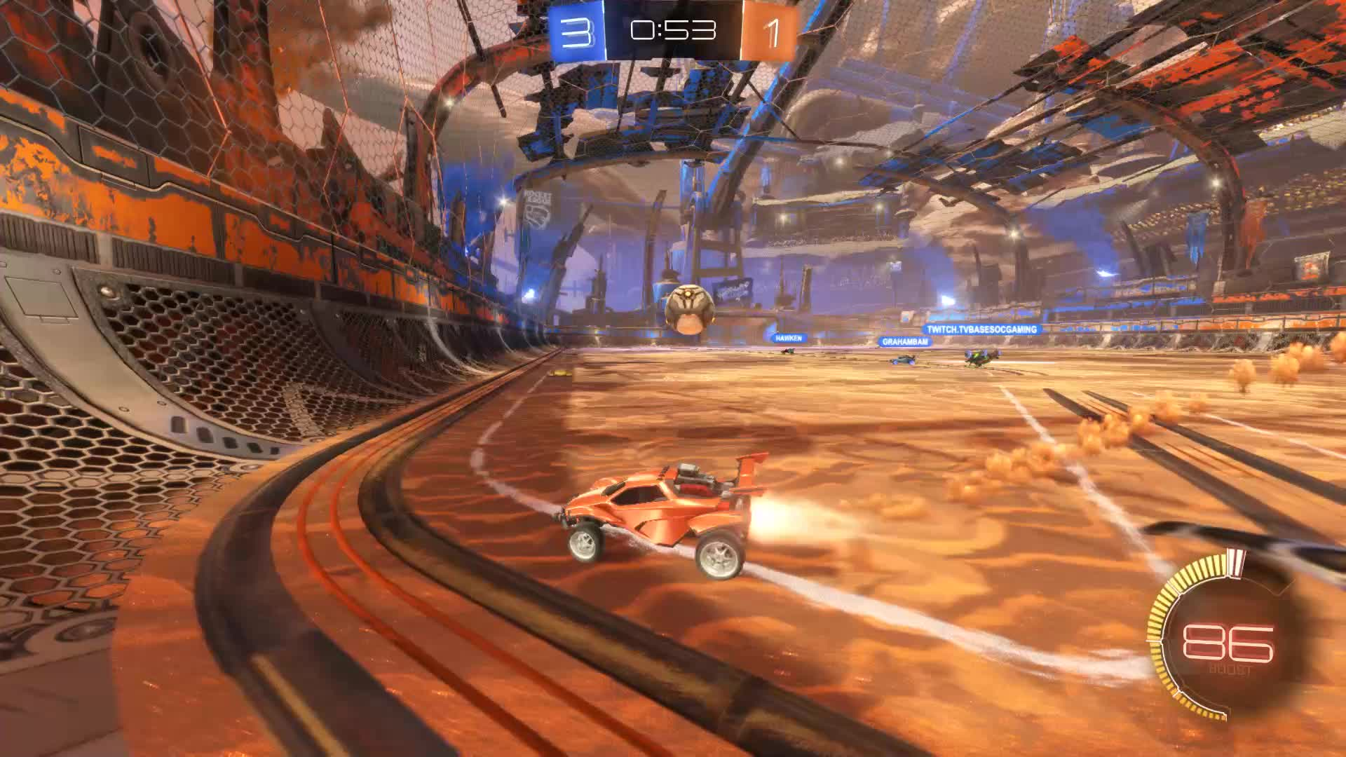 Assist, Gif Your Game, GifYourGame, Ketchup = Bipolar, Rocket League, RocketLeague, Assist 4: Ketchup = Bipolar GIFs