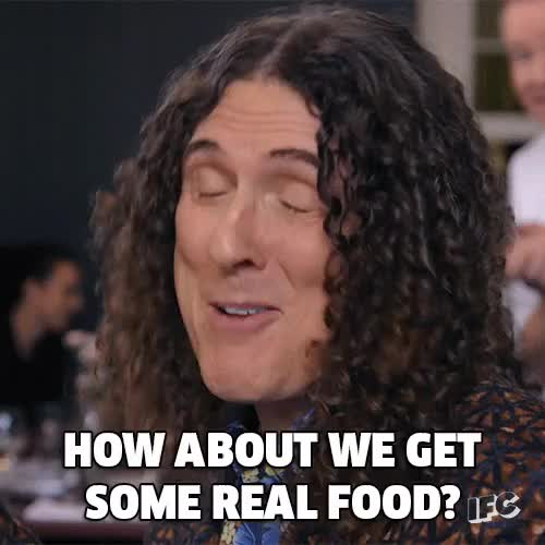 Watch and share Weird Al Yankovic GIFs and Food GIFs on Gfycat