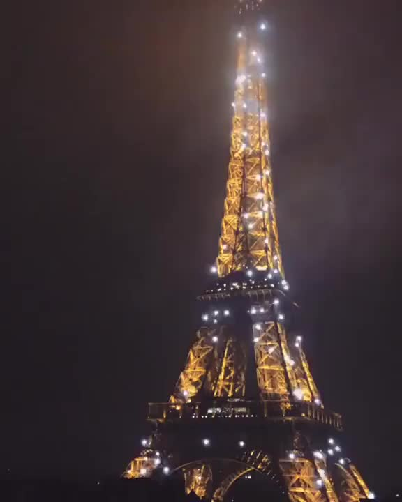 Watch and share Sparkly Eiffel Tower GIFs on Gfycat