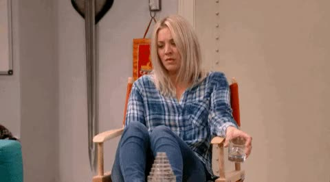 Watch this trending GIF on Gfycat. Discover more kaley cuoco GIFs on Gfycat